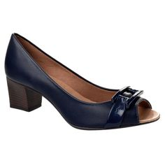 Peep Toe Feminino Lore 053 17-210019006 - Azul