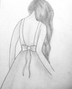 Girl Drawing Sketches, Art Drawings Sketches Simple, Pencil Art Drawings, Doodle Drawings, Cute Drawings, Pencil Drawing Inspiration, Fashion Design Drawings, Art Sketchbook, Billie Eilish