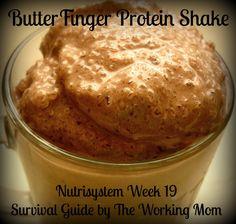 Nutrisystem Week 19: Protein Shake Recipes
