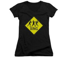 Zombie Xing Junior V-Neck T-Shirt