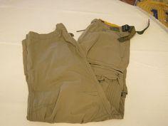 Mens Abercrombie and Fitch cargo pants s small slacks pant EUC @ #AbercrombieFitch #pants