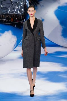 Christian Dior A/W '13 ,this jacket is very tailored and professional looking , i love the coulor too