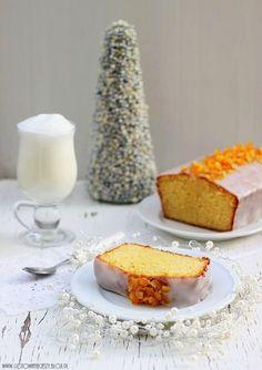 Ciasto intensywnie pomarańczowe