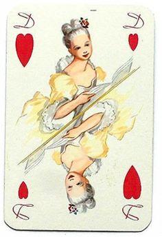 #PlayingCardsTop1000 - Clavicin - Queen of hearts
