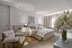 Recámaras de estilo moderno por Alessandra Contigli Arquitetura e Interiores