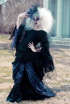 Photography: Laura Dark Photography Model: Odette Despairr MUA: Makeup Vamp Hair: Synthetic Rebellion