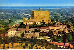 Forlì - Montefiore conca - forli - rocca - formato grande non viaggiata - e