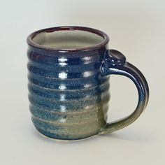 Handmade Mug  Pottery Mug  Ceramic Mug  by SawyerCeramics on Etsy, $15.00