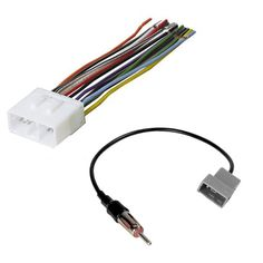 pyle psc1250 12 gauge 50 feet spool of high quality speaker zip car stereo radio receiver wiring harness w radio antenna adapter for select subaru vehicles 1993