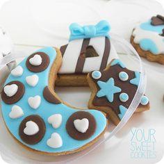 Baby Boy Cookies http://instagram.com/yoursweetcookiess