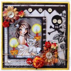 Sweet Pea Stamps: Halloween Dusk
