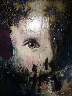 Mixed media on steel. Art by Mark Seely