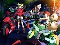 Naruto Akira cross over. Naruto Clans, Katsuhiro Otomo, They See Me Rollin, I Love Anime, Akira, Cyberpunk, Otaku, Joker, Fan Art