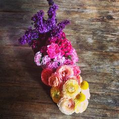 We love colors #flowers #wild #colors #arrangements