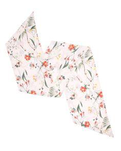 4eb6197fd69a56 Botanical bloom skinny scarf - Pale Pink