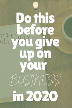 Wait, don't leave it! If it is your purpose and the thing you absolutely want to do.. Then read this before giving up on your business.
