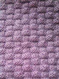 Ravelry: Prue's Basket Weave Scarf pattern by Vicky Sugden