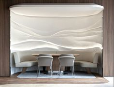 French design studio Jouin Manku recently completed the design of a modern restaurant and lounge for the Bayerischer Hof Hotel in Munich, Germany. Luxury Restaurant, Restaurant Design, Modern Restaurant, Oriental Restaurant, Restaurant Restaurant, Hotel Interiors, Office Interiors, Bar Design Awards, Hotel Lounge