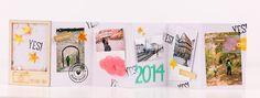 mojosanti ♥ Sandra Dietrich: DIY Blühende Minibücher I Mini books in a flower pot