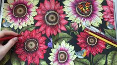 AFTER THE RAIN | Blomstermandala Coloring Book | Coloring With Colored Pencils | Raindrops Coloring - YouTube 22:17 monarch