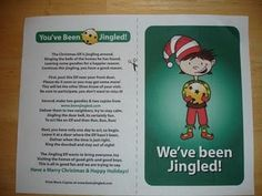 Christmas Gift for Neighbors -- You've Been Jingled! -- Cute idea similar to being BOOed.  Gotta try this one