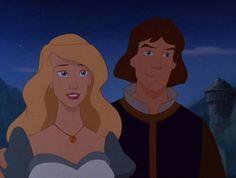 Odette and Prince Derek