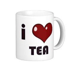I Heart Tea Mug