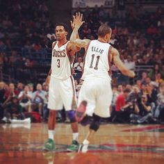 My 2 favorite players. Brandon Jennings, Milwaukee Bucks, Boys, Sports, Baby Boys, Hs Sports, Excercise, Guys, Sport