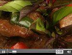 Fresh Basil Beef- Nick Stellino - Video