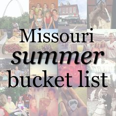 According to Ali | My life as a Midwestern twentysomething: Things to Do in Missouri this Summer