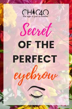Are you over forty? Do you want to know how to lift your face simply with your eyebrows? Check my blog and I tell you the secret of the perfect eyebrow :)