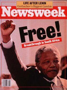 11 février 1990: quand la presse célébrait la libération de Nelson Mandela | Slate.fr