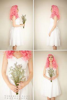 Bridal-Themed Shoot by albinwonderland, via Flickr