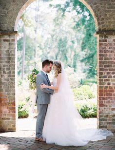 Romantic Georgia garden wedding