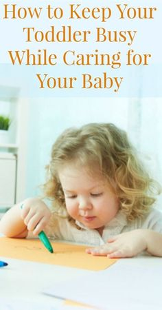 How to Keep a Toddler Busy While Putting Baby to Sleep {Parenting Tips, Tips for Moms, Toddlers, Babies, Positive Parenting, Gentle Parenting, Gentle Discipline, Attachment Parenting}