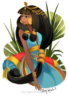 """Cleopatra"" by Lissy Marlin Blog/Website 