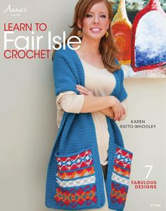ISSUU - Learn to fair isle crochet by Camelia July...THIS IS A FREE BOOK!!