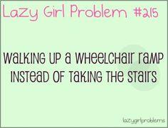 lazy girl problem   Lazy Girl Problems   Funny