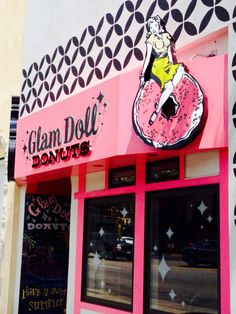 Glam Doll Donuts, Minneapolis, MN.