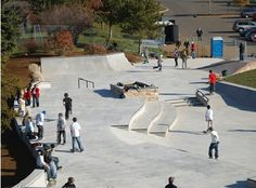 skatepark - clever integration with public realm