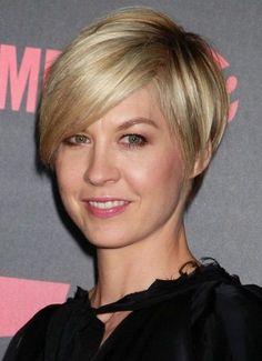 short hair no bangs   15+ Chic Short Hairstyles for Thin Hair You Should Not MISS!