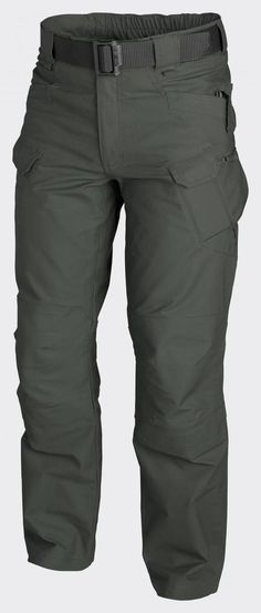 Helikon UTP Urban Tactical Pants Ripstop - Shadow Grey Designed for Law Enforcement operators Main bottom apparel from Urban Tactical Line®. for reference Tactical Wear, Tactical Pants, Tactical Clothing, Camisa F1, Cool Gear, Hiking Gear, Outdoor Outfit, Trouser Pants, Casual Clothes