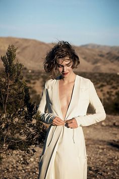Arizona Muse. American Vogue. Feb. 2011. Photographed by Peter Lindbergh.