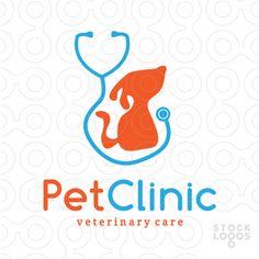 Exclusive Customizable Logo For Sale: Pet Care Clinic | StockLogos.com