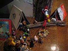 Camping Elf on the Shelf
