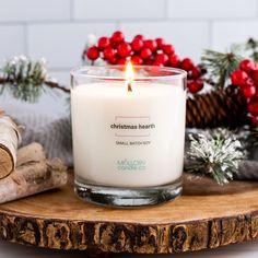 Christmas Hearth Candle - Jar
