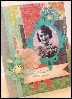 Notebook Art Journal Altered Book by IndigoWings on Etsy, $20.00