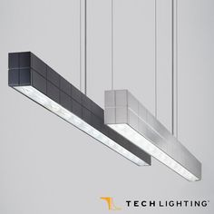 Tech Lighting  Biza Linear Suspension where geometries converge to make the seemingly complex simply beautiful fixture. #TechLighting #LinearSuspension #LED  Available at loftmodern.com  http://www.loftmodern.com/products/tech-lighting-biza-linear-suspension