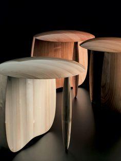 Aldo Bakker - wood Urushi Stools
