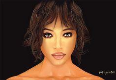 Naomi - Retratos | Dibujando.net
